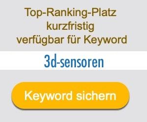 3d-sensoren Anbieter Hersteller
