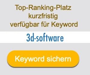 3d-software Anbieter Hersteller