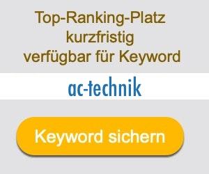 ac-technik Anbieter Hersteller
