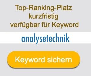 analysetechnik Anbieter Hersteller