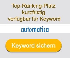 automatica Anbieter Hersteller