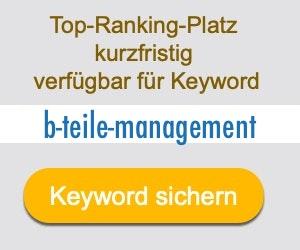 b-teile-management Anbieter Hersteller