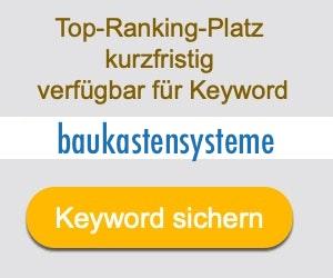 baukastensysteme Anbieter Hersteller