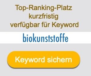 biokunststoffe Anbieter Hersteller