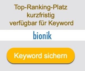 bionik Anbieter Hersteller