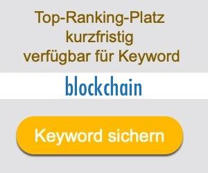 blockchain Anbieter Hersteller