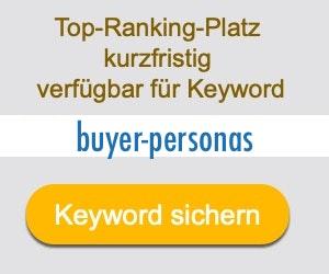 buyer-personas Anbieter Hersteller