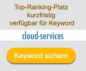 cloud-services Anbieter Hersteller