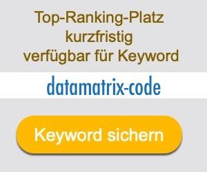 datamatrix-code Anbieter Hersteller
