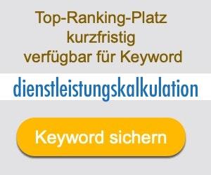 dienstleistungskalkulation Anbieter Hersteller