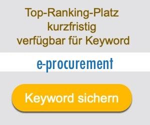 e-procurement Anbieter Hersteller