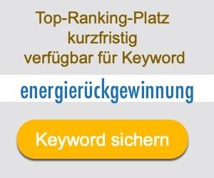 energierückgewinnung Anbieter Hersteller
