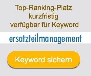 ersatzteilmanagement Anbieter Hersteller