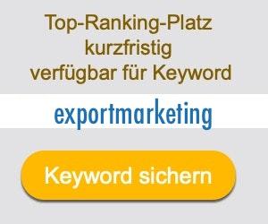 exportmarketing Anbieter Hersteller
