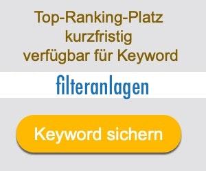 filteranlagen Anbieter Hersteller