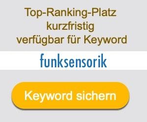 funksensorik Anbieter Hersteller
