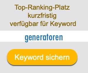 generatoren Anbieter Hersteller