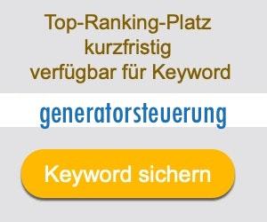generatorsteuerung Anbieter Hersteller