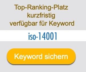 iso-14001 Anbieter Hersteller
