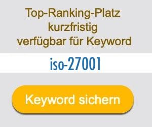 iso-27001 Anbieter Hersteller