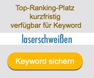 laserschweißen Anbieter Hersteller