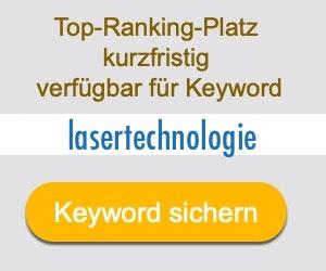 lasertechnologie Anbieter Hersteller