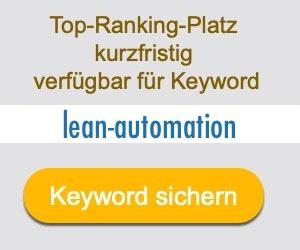 lean-automation Anbieter Hersteller