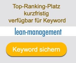 lean-management Anbieter Hersteller
