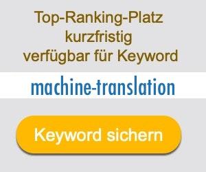 machine-translation Anbieter Hersteller