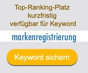 markenregistrierung Anbieter Hersteller