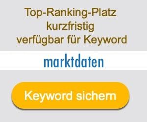 marktdaten Anbieter Hersteller