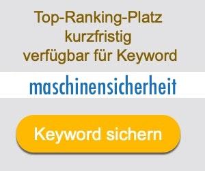 maschinensicherheit Anbieter Hersteller