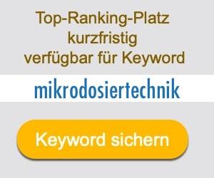 mikrodosiertechnik Anbieter Hersteller