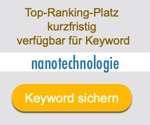 nanotechnologie Anbieter Hersteller