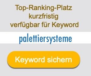 palettiersysteme Anbieter Hersteller