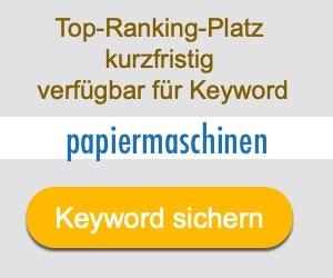 papiermaschinen Anbieter Hersteller