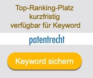 patentrecht Anbieter Hersteller