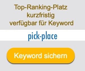 pick-place Anbieter Hersteller