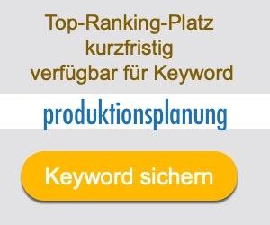 produktionsplanung Anbieter Hersteller