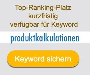 produktkalkulationen Anbieter Hersteller