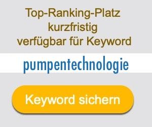 pumpentechnologie Anbieter Hersteller