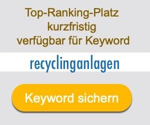 recyclinganlagen Anbieter Hersteller