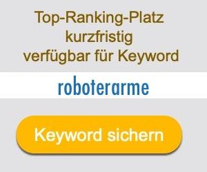 roboterarme Anbieter Hersteller