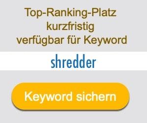 shredder Anbieter Hersteller