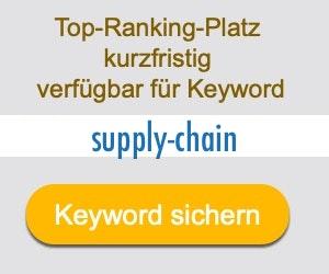 supply-chain Anbieter Hersteller