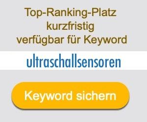 ultraschallsensoren Anbieter Hersteller