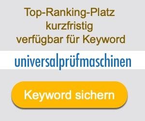 universalprüfmaschinen Anbieter Hersteller