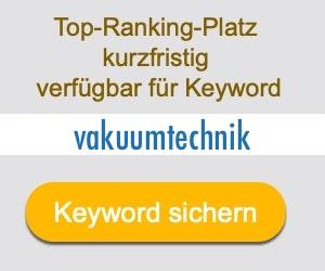 vakuumtechnik Anbieter Hersteller