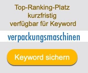 verpackungsmaschinen Anbieter Hersteller