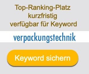 verpackungstechnik Anbieter Hersteller